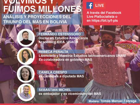 Foro Volvimos y fuimos millones. Análisis y proyecciones del triunfo del MAS en Bolivia