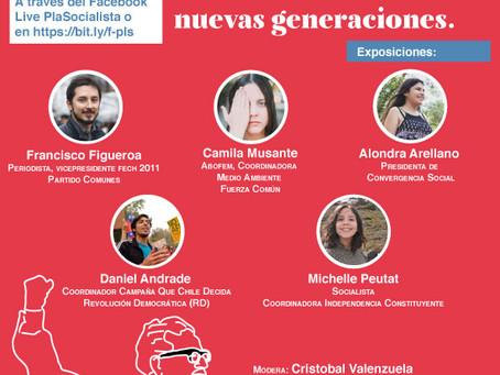 En vivo Foro: Allende y el 18-O. Nuevas voces, nuevas generaciones