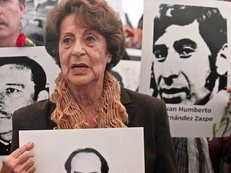 Condolencias por fallecimiento de Ángela Margarita Jeria Gómez