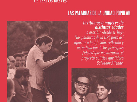 "Concurso de textos breves ""Beatriz ""Tati"" Allende Bussi"""