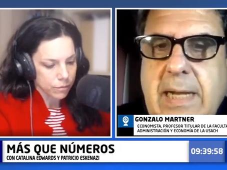 """Gonzalo Martner: """"Eyzaguirre pasó de una cosa ortodoxa comunista, a una cosa liberal otodoxa"""""""