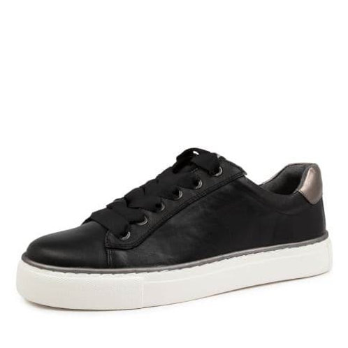 PENNY XF Black Leather