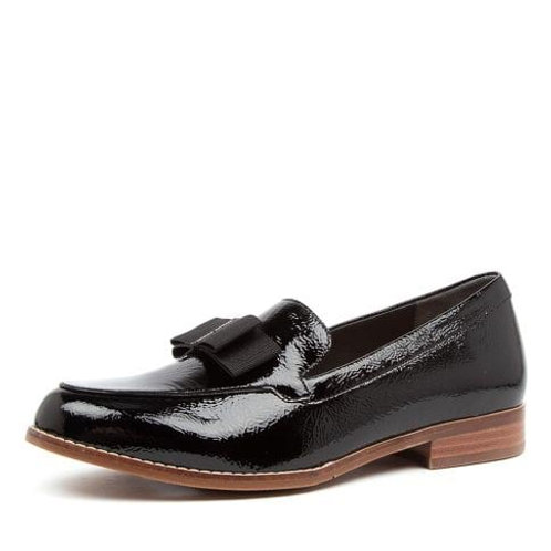 TALISE XF Black Patent - Suede