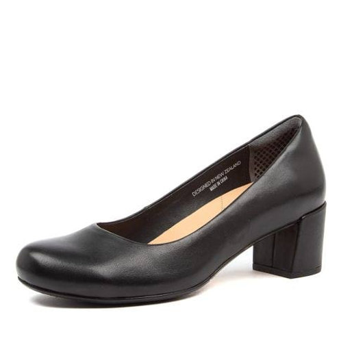 ELECTRA FF Black Leather