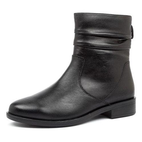 SELMA XF Black Leather