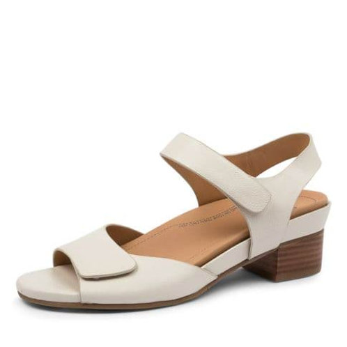 AVA Off White Leather