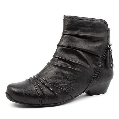 CAMRYN XW Black Leather