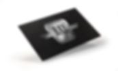 Логотип на визитке