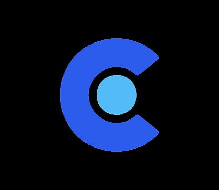 нсн логотип, знак синий. цветной
