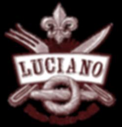 логотип кафе luciano