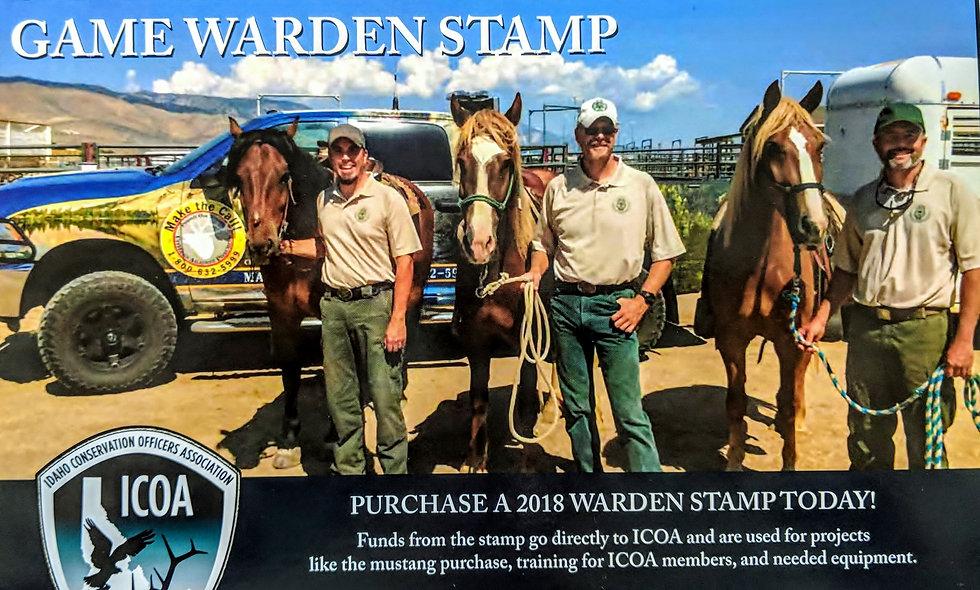Inaugural 2018 ICOA stamp