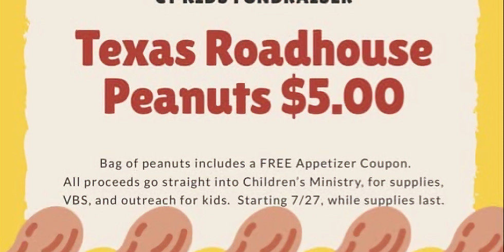 Peanuts Fundraiser for CT Kids