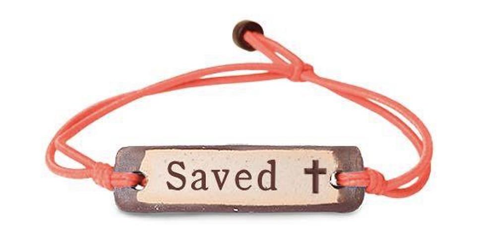 """Saved"" Bracelet Fundraiser"