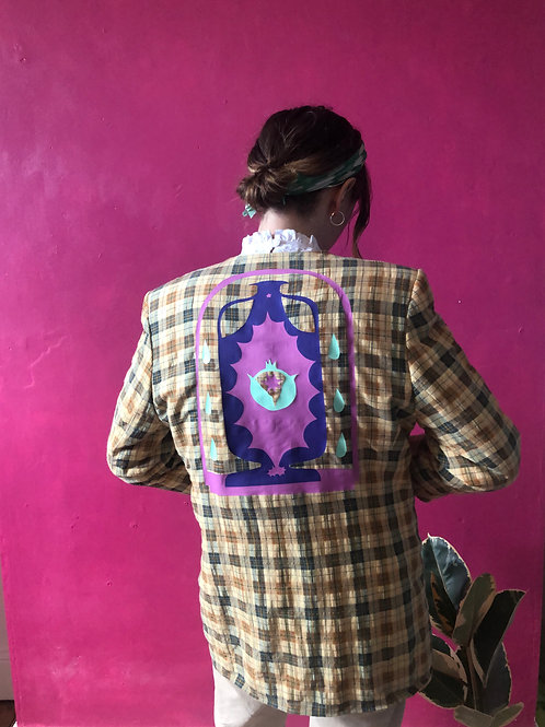 One-of-a-Kind Upcycled Blazer