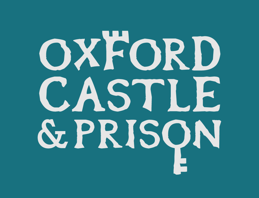 Oxford Castle & Prison_LOGO_grey on teal