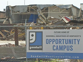 8-APR | BUILDING DEMOLITION PAVES WAY FOR GOODWILL'S NEW OPPORTUNITY CAMPUS