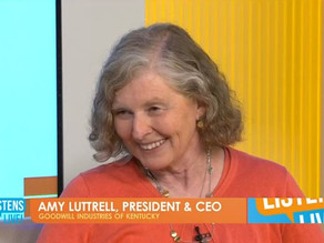 02 SEP | WAVE 3 - GOODWILL PRESIDENT AND CEO AMY LUTTRELL DISCUSSES WEST LOUISVILLE EXPANSION