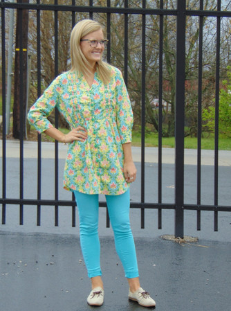 #ThriftyThursday: Blog inspired prints and pants