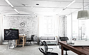 100424968-stylish-and-simple-office-with
