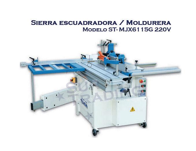Sierra escuadradoraMOLDURERA MJ6115G 220