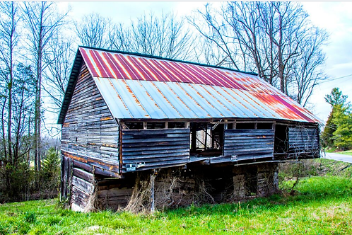 Cantilever Barn Photo Canvas (4 sizes)