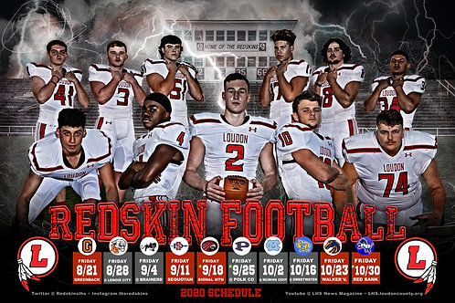 Loudon Football Poster #2