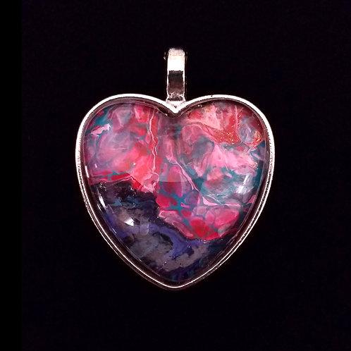 "Heart Pendant 1"""