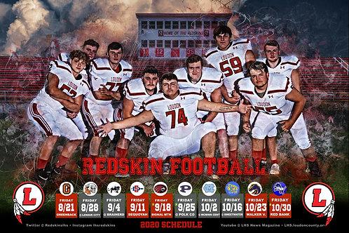 Loudon Football Poster #1