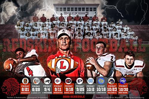 Loudon Football Poster #3