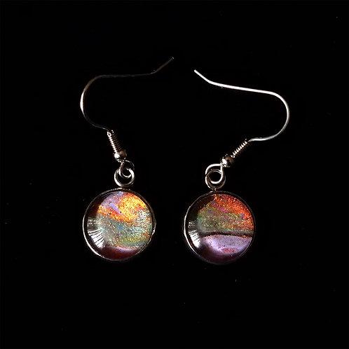 Acrylic Poured Earrings