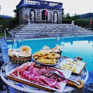 Aperi-cena in piscina