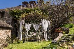gazebo aperitivi - i giardini di borgo c