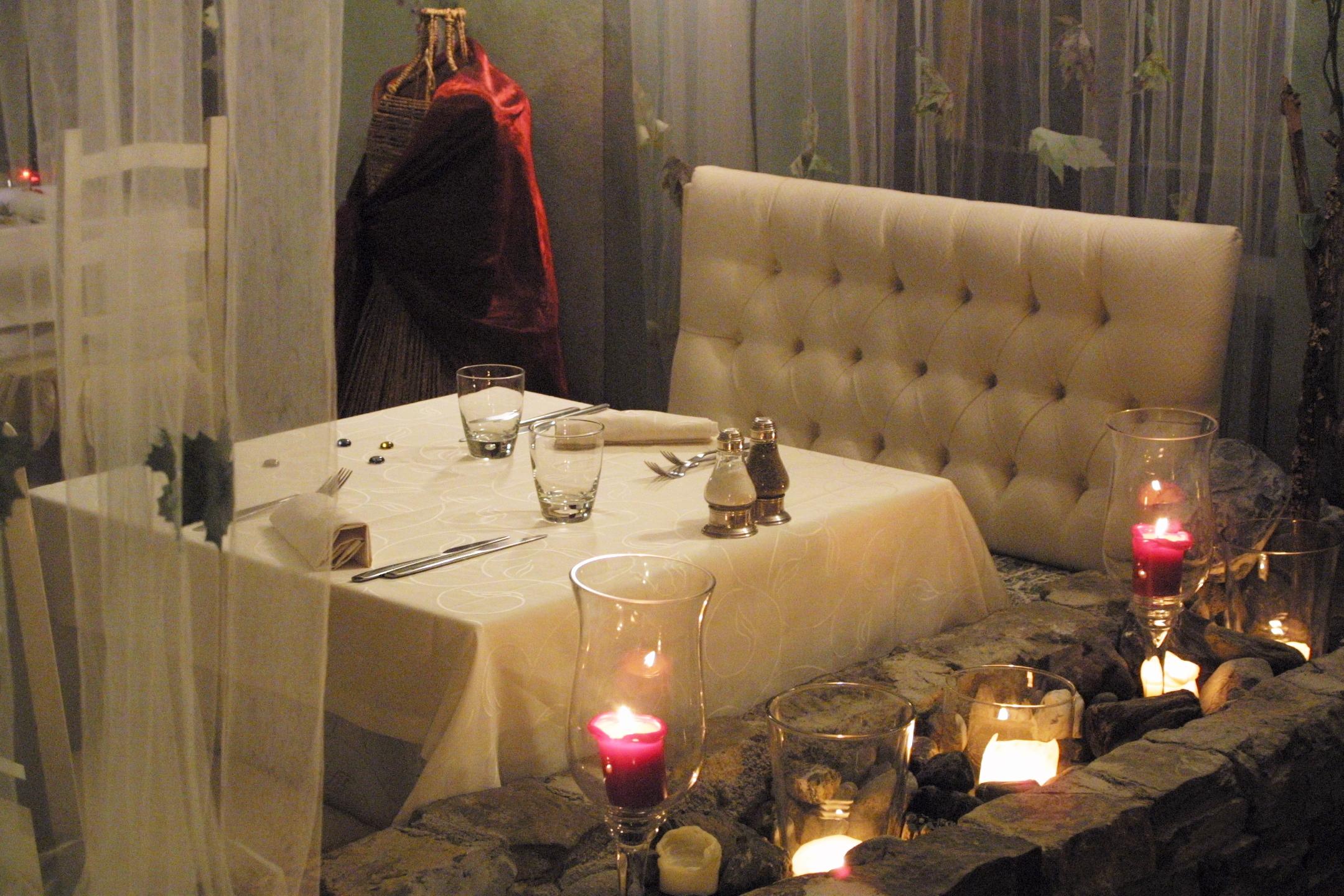 cena romantica borgo casale