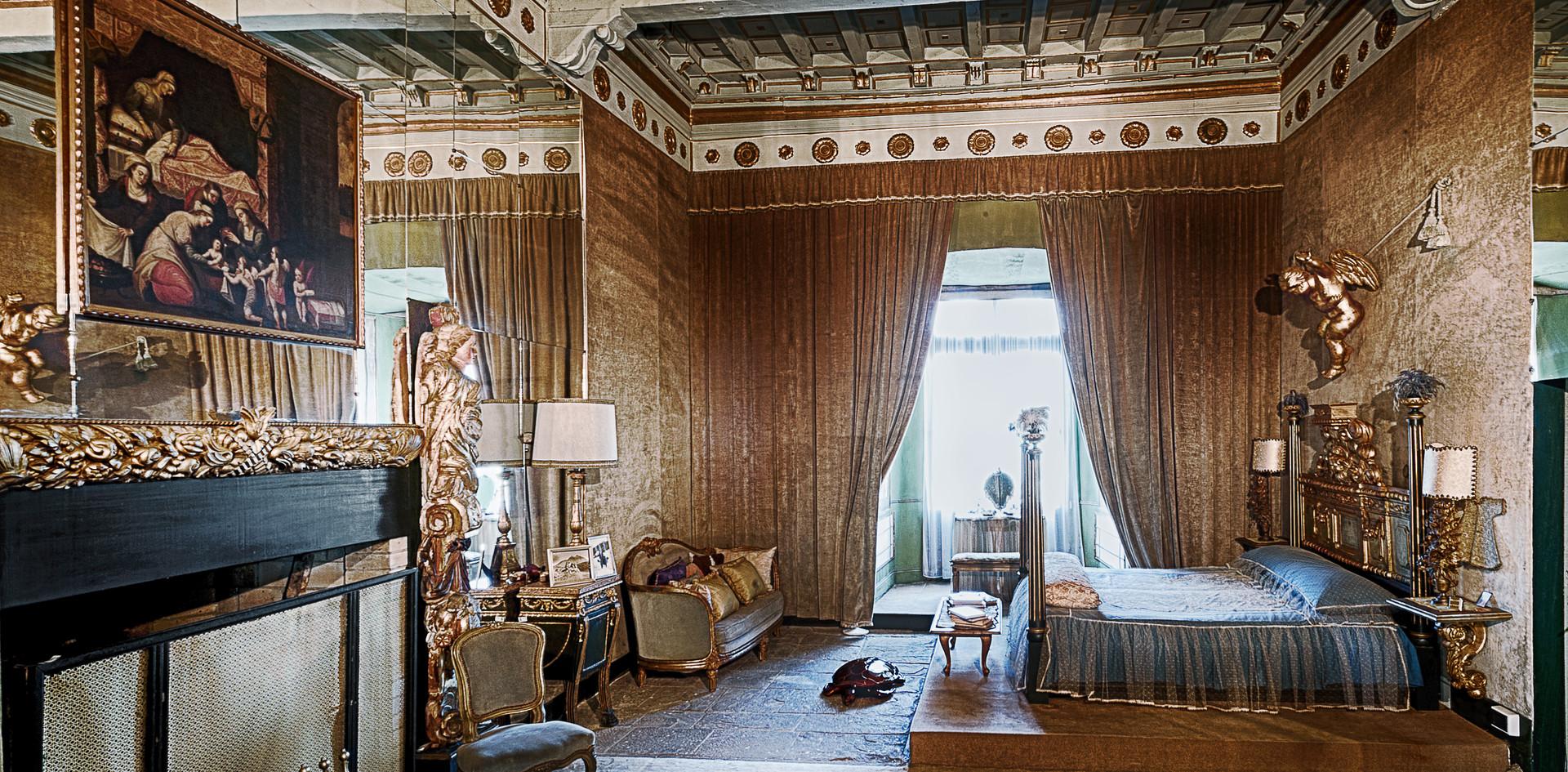 Camera da letto - Castello di Compiano.j