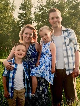 Conrad Carissa and kids