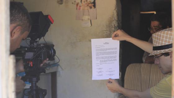 """Still do curta-metragem """"Bom fim do Amianto"""""""