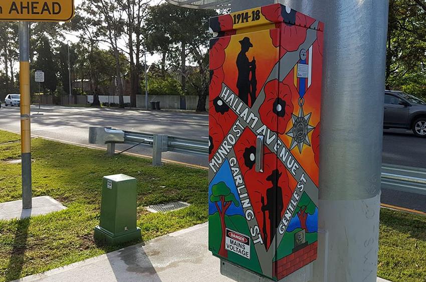 Lane Cove Remembers, Signal Box Commission