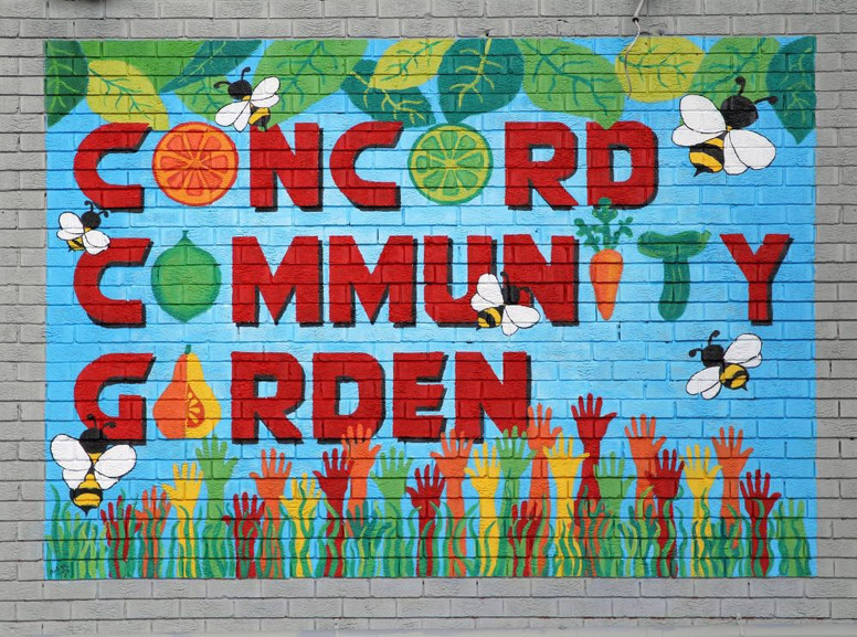 Mural Commission - Concord Community Garden