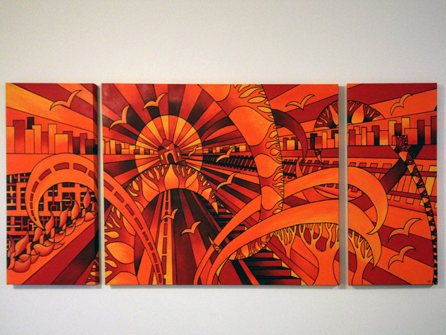Matt McLarty - Triptych Commission