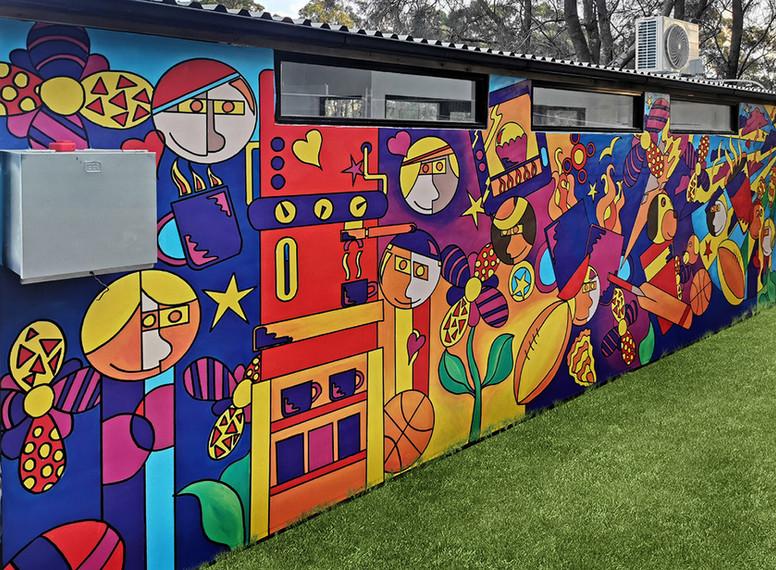 Mural Commission - Blackman Park, Lane Cove