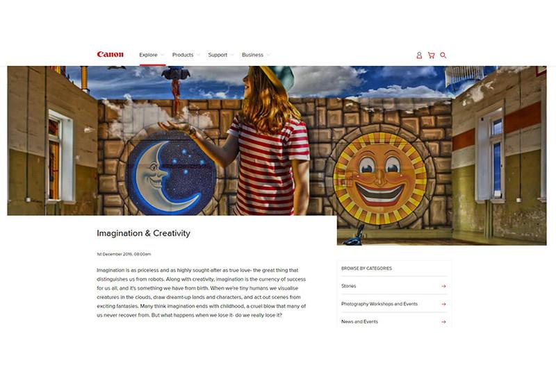 Canon Lab - Imagination