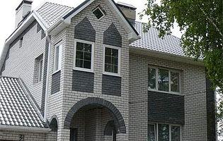 Дом силикатный кирпич