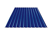 Профнастил синий RAL5005