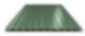 Профнастил зеленый RAL6005