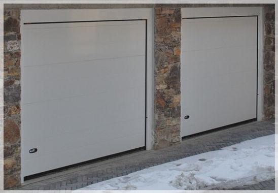 sezionali per garage colore bianco
