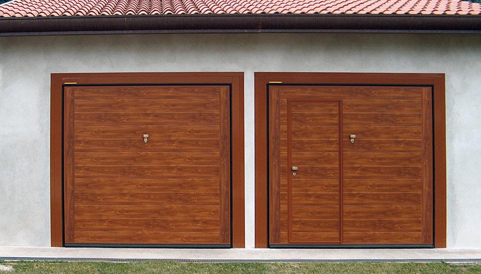 Portoni sezionali e porte basculanti per garage sezionali - Portoni in legno prezzi ...