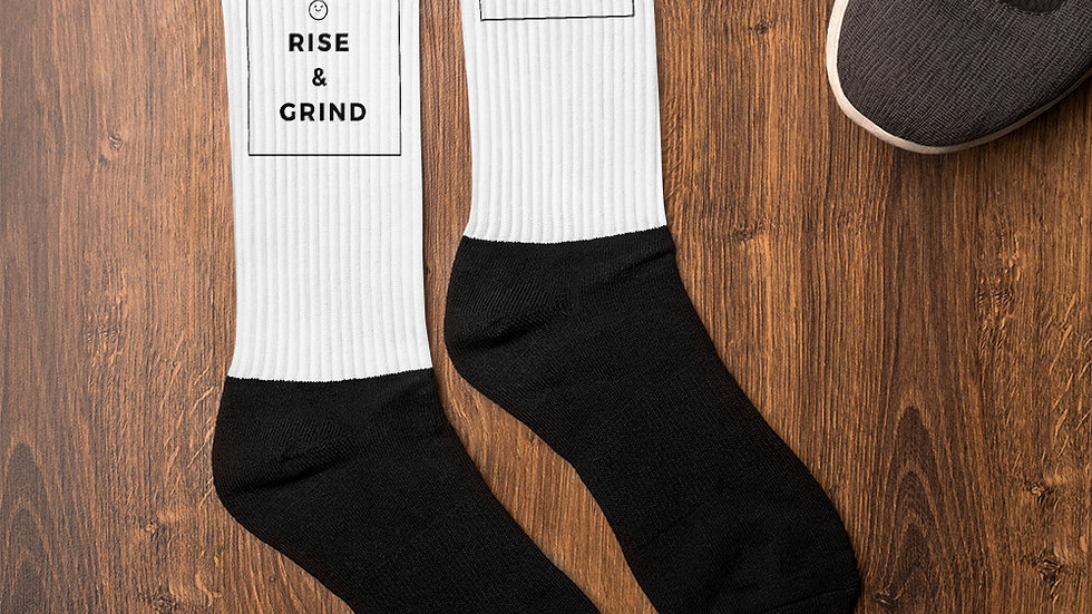 Rise and grind Socks