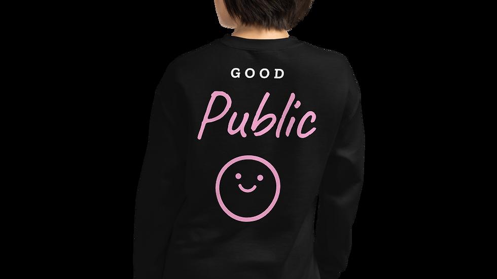 GoodPublic Smile Unisex Sweatshirt