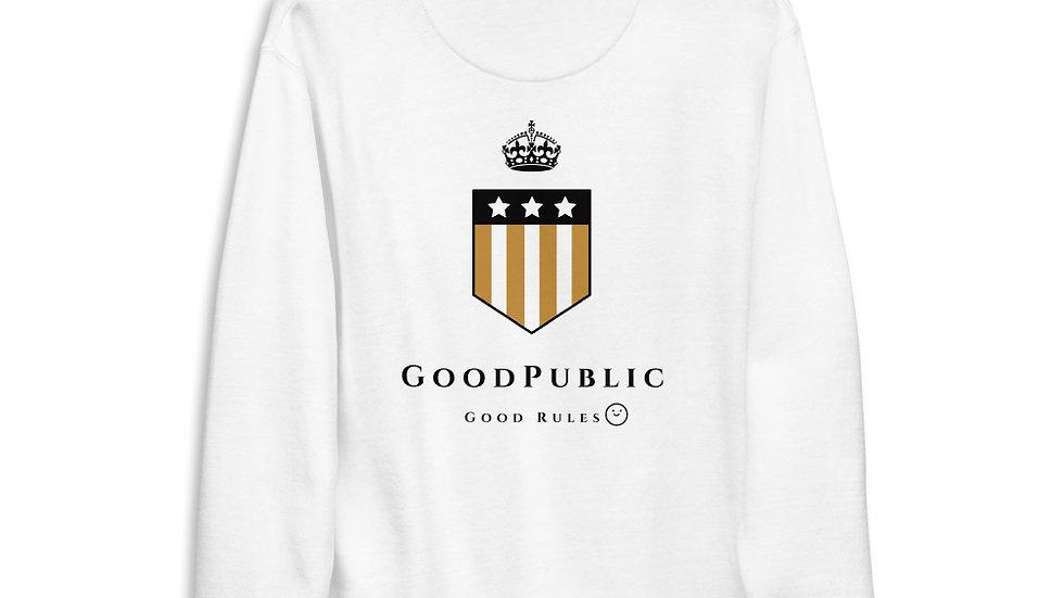 Good Rules! G.P. Unisex Fleece Pullover