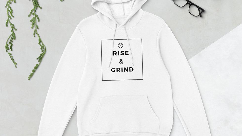 Rise & Grind Soft Unisex hoodie